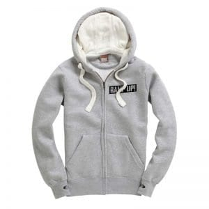 RAMP UP! Light Grey Zip Up Hoodie